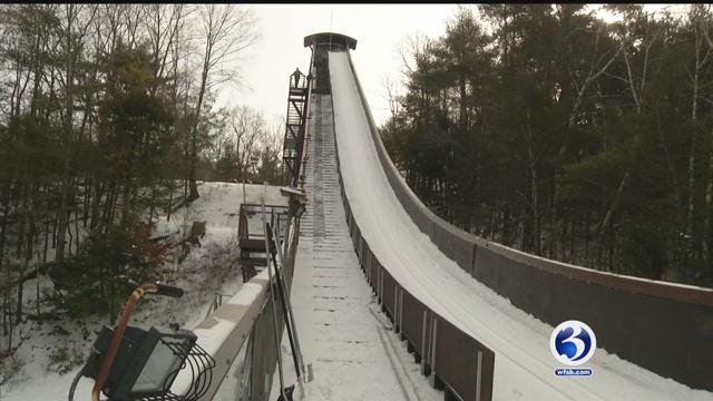 The town of Salisbury is preparing for its annual Jumpfest, which starts Friday night. (WFSB)