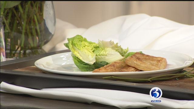 Chef Bill Carbone of Dish Bar and Grill creates lobster and leek pop tarts. (WFSB)