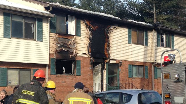 Naugatuck Fire officials say four two-story units were damaged in a apartment fire on Horton Hill Rd. (WFSB)