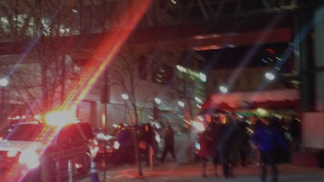 Pipe burst prompted an evacuation at Max Downtown restaurant in the Cityplace building on Sunday night.