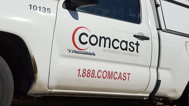 Problems reported for Comcast internet services nationwide