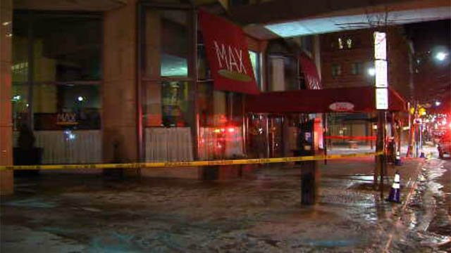 Max Downtown was evacuated on Valentine's Day evening due to a pipe burst on the second floor of City Place (WFSB)