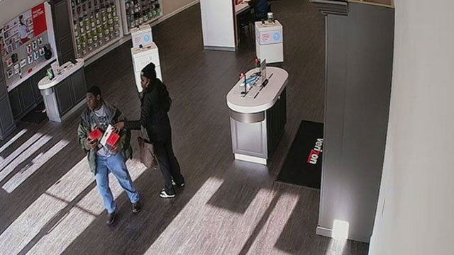 A surveillance photo was released of the suspects. (Clinton Police Department)