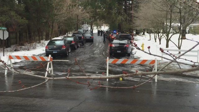 A father was killed in an officer-involved shooting in Fairfield. (WFSB photo)