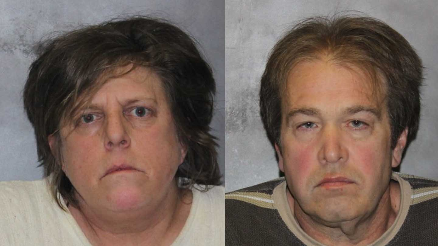 Karen Muro and Charles Beaudoin. (West Haven police photos)