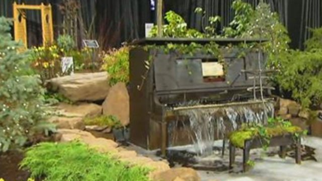 The 35th annual Connecticut Flower & Garden Show opens on Thursday at the Connecticut Convention Center and continues all weekend. (WFSB)