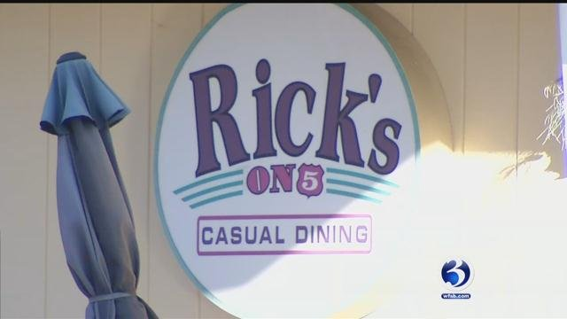 Rick's on 5 in Wallingford is being accused of illegally dumping grease and other harmful chemicals in the sewer (WFSB)