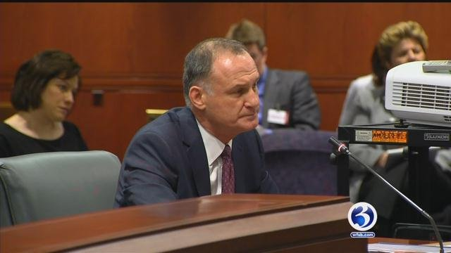 Interim DMV Commissioner Dan Murphy faces General Assembly's Transportation Committee on Friday. (WFSB)