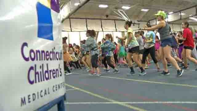 Dozens of UConn students participated in the dance marathon all to help raise money for the Connecticut Children's Medical Center and the Children's Miracle Network. (WFSB)