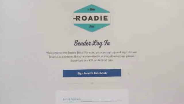 Roadie links up drivers who will be on the road anyway, with people who need something picked up or dropped off. (WFSB)