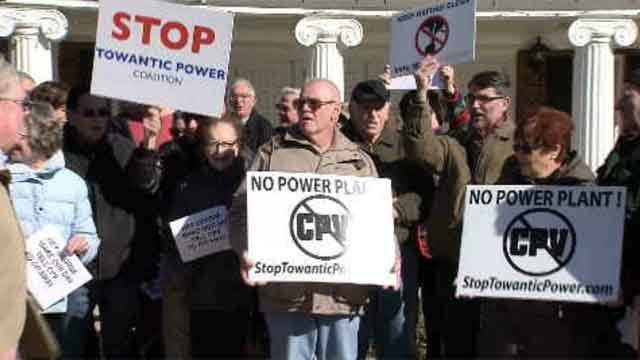 Oxford residents against a proposed power plant said they're going to keep fighting the plan, even as the town says it is a done deal. (WFSB)