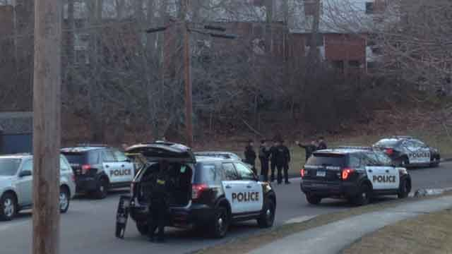 Police in Norwich responded to Sandy Lane on Monday afternoon after reports of shots being fired in the area. (WFSB)