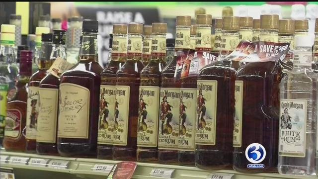 Governor wants to lower prices of liquor. (WFSB File)