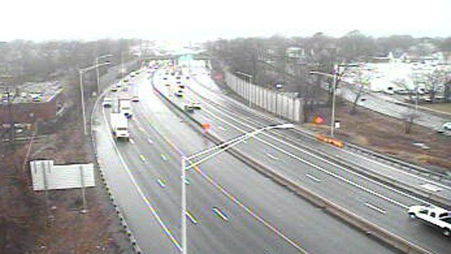 I-95 in the New Haven area. (DOT photo)