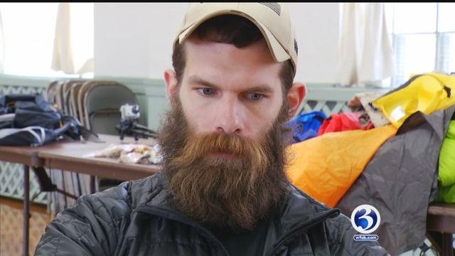 Former marine and Plainfield native Steven Lesage is special mission to prevent more veterans from becoming victims of suicide. (WFSB)