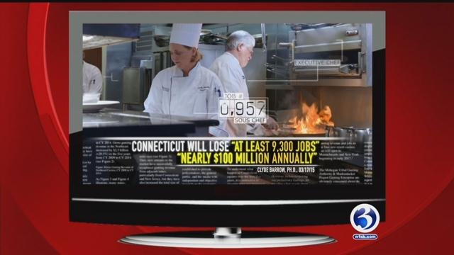 New digital ad sends the message Connecticut will lose thousands of jobs without a third casino