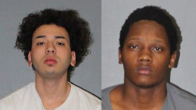 Samuel Lopez and Trevon Henderson. (West Hartford police photo)