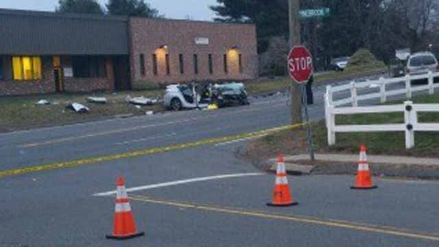Two children were killed in a two-vehicle crash on Middle Street on Dec.13, 2015. (iWitness photo)