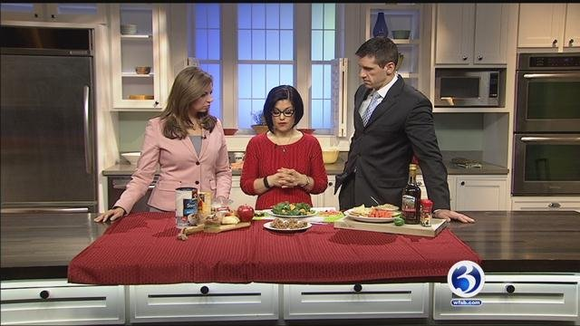 Eyewitness News learned how to make heart healthy items on Sunday morning (WFSB)