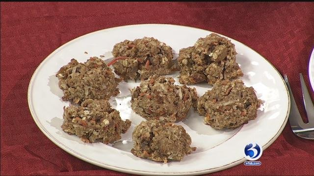 Eyewitness News learned how to make Carrot-Coconut Oatmeal Cookies on Sunday morning.? (WFSB)
