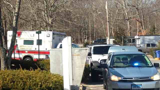 One man has died after a fire broke out at a home in Clinton on Sunday morning. (WFSB)