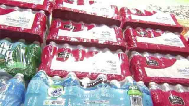 A local church group joined the relief efforts to provide clean water to Flint, Michigan. (WFSB)