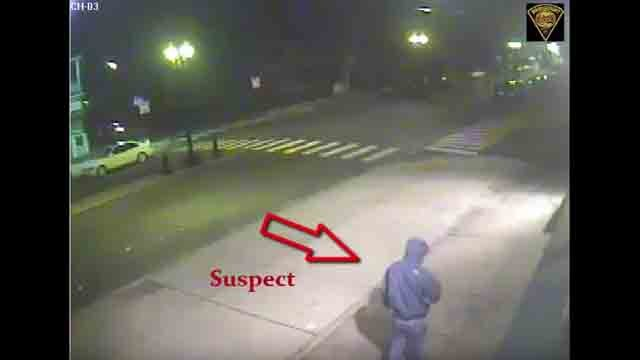 Bridgeport detectives are asking for the public's help in identifying an arson suspect. (Bridgeport Police)