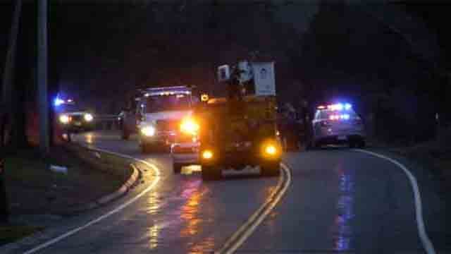 A deadly motorcycle crash closed Route 17 in Durham on Sunday afternoon (WFSB)