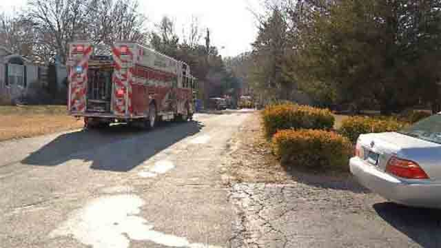 An 85-year-old man and his dog died in a house fire in Clinton early Sunday morning (WFSB)