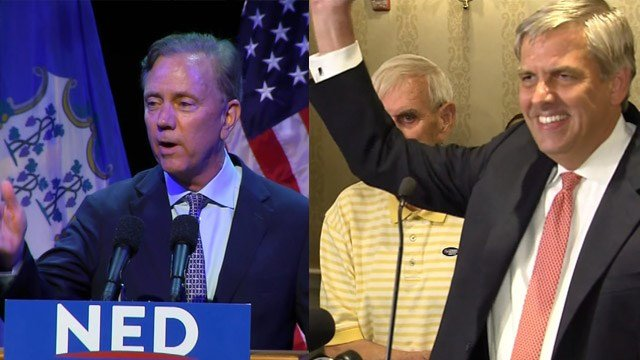 Ned Lamont and Bob Stefanowski will go head-to-head in the governor's race in November.