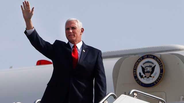 Vice President Mike Pence  (AP Photo/Karel Navarro)
