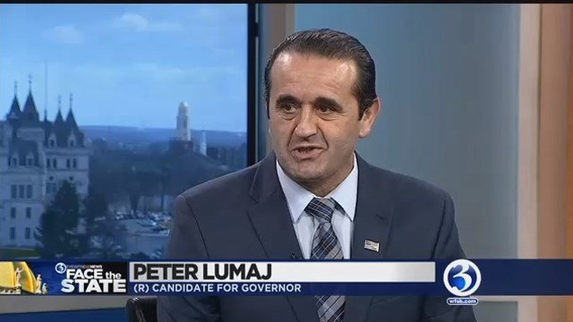 Peter Lumaj has dropped out of the race for CT governor (WFSB file photo)