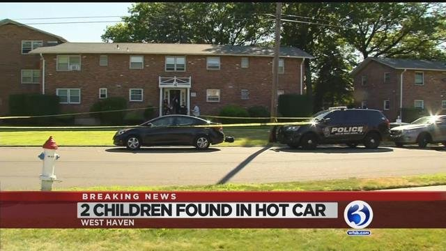 Video: Two kids taken to hospital after reports they were left in hot car
