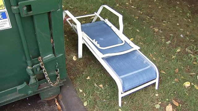 The town of Glastonbury is trying to combat illegal dumping (WFSB)