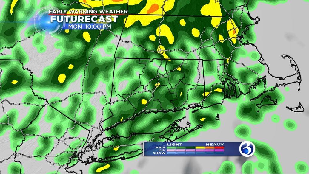 Rain tonight, warm and muggy on Tuesday - WFSB 3