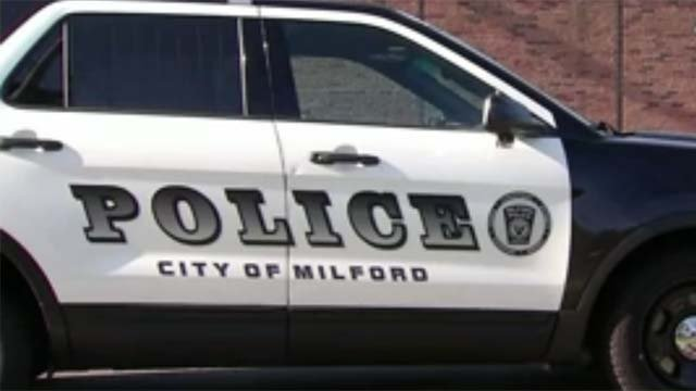 Milford police (WFSB file photo)